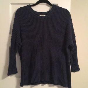 Madewell Navy Sweater
